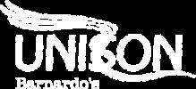 UNISON Barnardo's Logo (white)